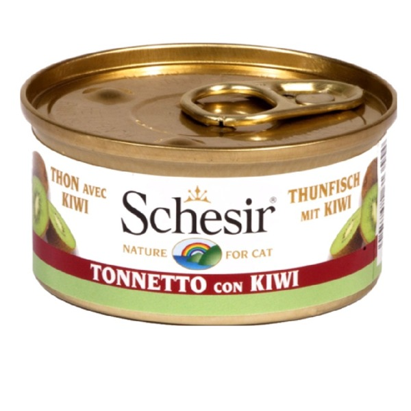 Schesir Adult Cat Fruit  6 Lattine da 75 gr  Foto