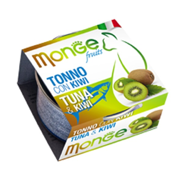 Monge Adult Cat Natural Fruits 6 lattine da 80 gr Foto
