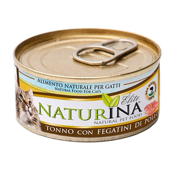 Naturina Elité Adult Cat 6 Lattine da 70 gr Foto