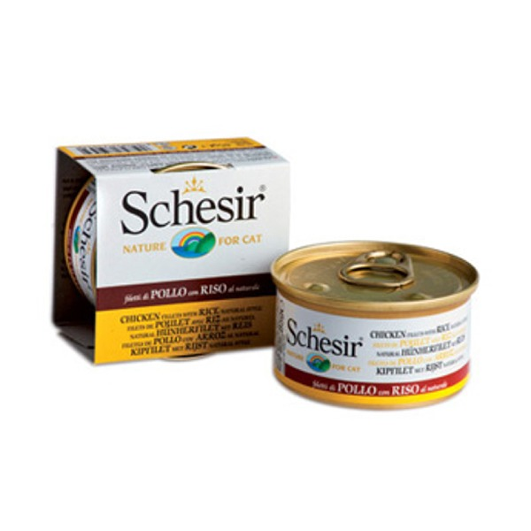 Schesir Adult Cat al Naturale 6 Lattine da 85 gr Foto