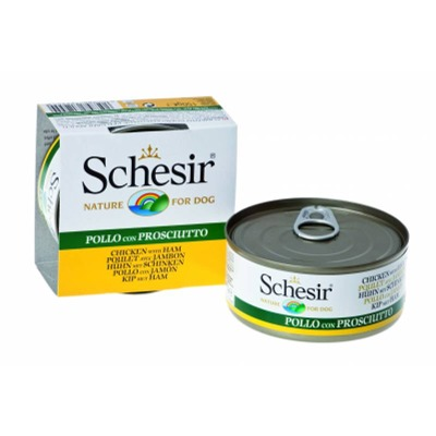Schesir Dog Natural  6 Lattine da 150 gr Foto