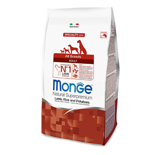 Monge Adult All Breeds Agnello con Riso e Patate - Foto
