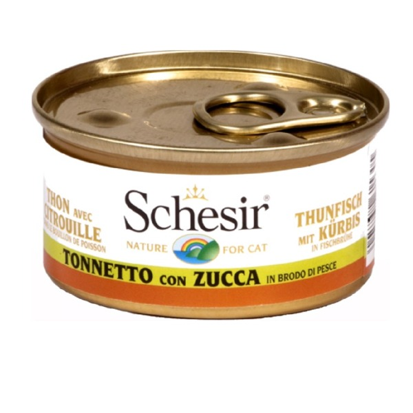 Schesir  Adult Cat in Brodo 6 Lattine da 70 gr - Foto