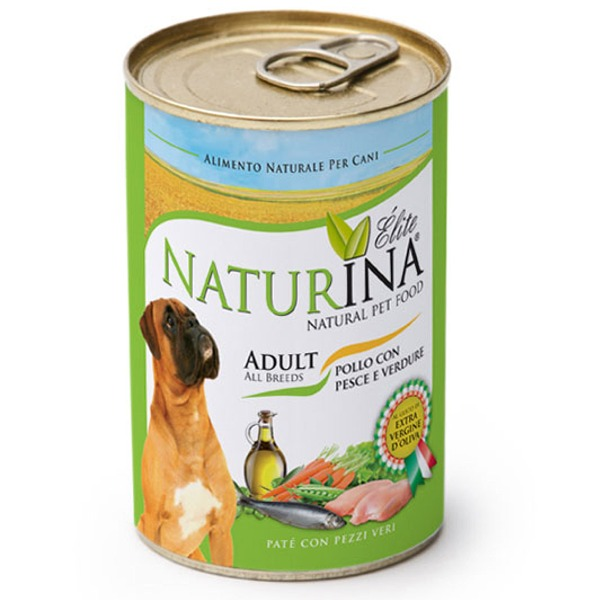 Naturina Adult  Dog Pollo e Pesce - Foto