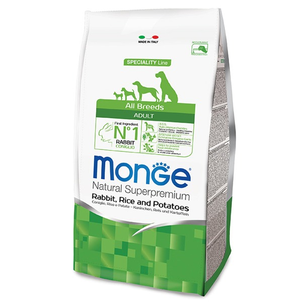 Monge Adult All Breeds  Coniglio, Riso e Patate - Foto
