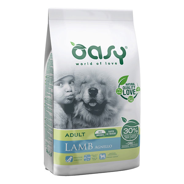 Oasy Adult Dog All Breeds Agnello - Foto