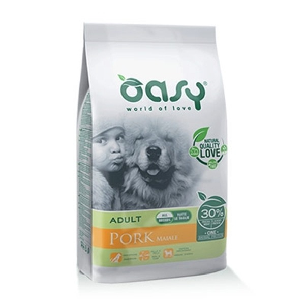 Oasy Adult Dog All Breeds Maiale - Foto
