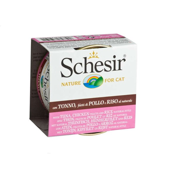 Schesir Adult Cat al Naturale 24 Lattine da 85 gr - Foto